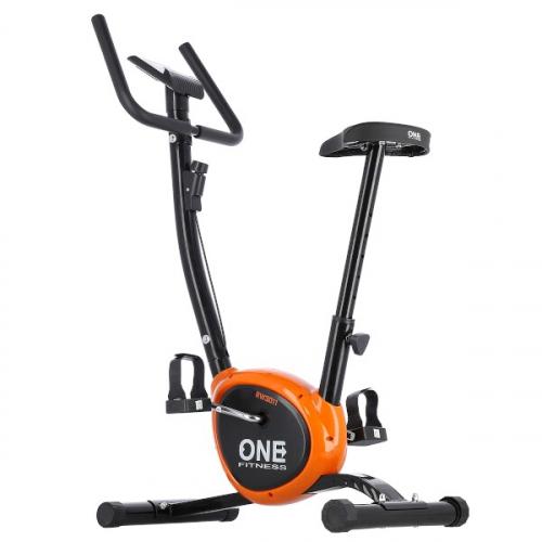 ONE Fitness RW3011 černo-oranžový Celkový pohled