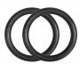 Gymnastické kruhy plastové s popruhy TX05 HMS kruhy