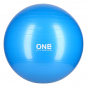 Gymnastický míč ONE Fitness Gym Ball 10 modrý, 55 cm